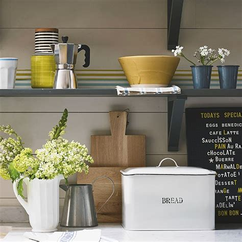 Country Shelf Ideas by Country Kitchen Shelving Country Storage Ideas