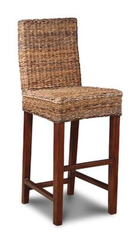 seagrass banana leaf or rattan bar stools with backs 1000 images about bar stools on rattan bar