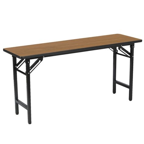18 x 60 table kfi seating folding seminar table 18 quot x 60