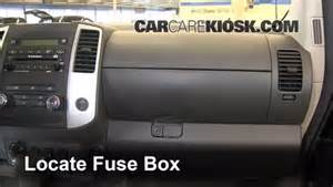 interior fuse box location 2005 2015 nissan xterra 2011 nissan xterra s 4 0l v6