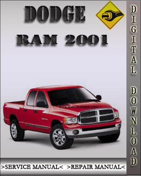 2001 dodge ram factory service repair manual download manuals am