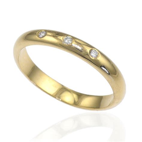 Wedding Rings With Diamonds by Three Wedding Ring By Lilia Nash Jewellery