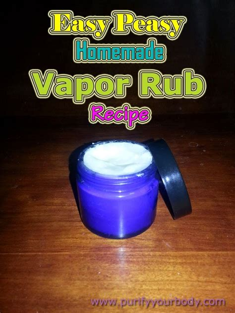Home Recipe For Detox Foot Pads by Vapor Rub Recipe Foot Pads And Detox