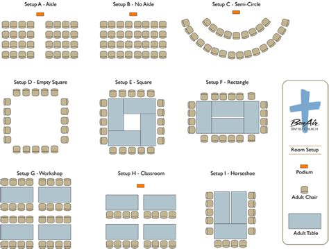 meeting room layout options bon air baptist church online room request