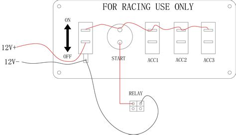 race car switch panel wiring diagram wiring diagram