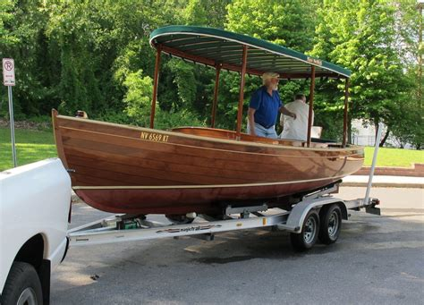 22 mahogany electric boat classic boats pinterest - Electric Boat Canopy