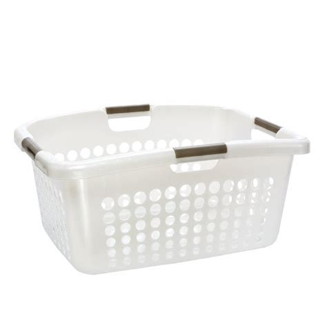 basket laundry comfort grip laundry basket the container store