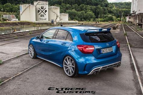 Silber Wieder Zum Glänzen Bringen by Mercedes A Klasse Vom Tuner Customs Tuningblog