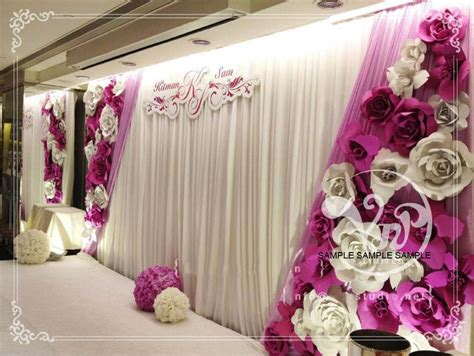 wedding backdrop on a budget 2015 trends on a budget i do paper flowers