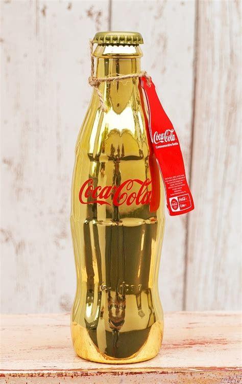geschenke 24 de coca cola flasche gold www originelle geschenkideen 24 de