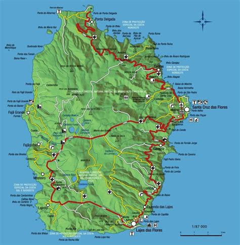 map of azores isle of flores the isle of flowers map flores in the