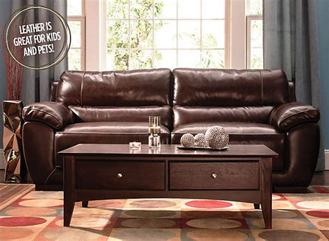 Luxurious Leather Raymour And Flanigan Furniture Design Luxurious Leather Sofas