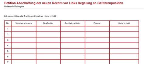 Word Vorlage Unterschriftenliste Petition Gegen Rechts Vor Links Zoom