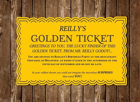 golden ticket template editable printable editable printable wonka golden ticket