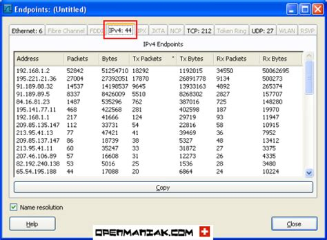 wireshark easy tutorial wireshark statistics endpoints ip