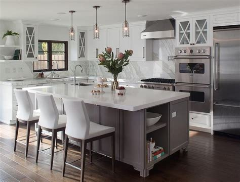 white l shaped kitchen with island 25 best ideas about l shaped kitchen designs on pinterest