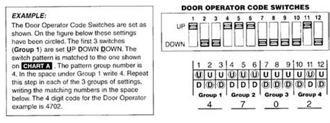 Genie Keypad Gpwk Coding Instructions