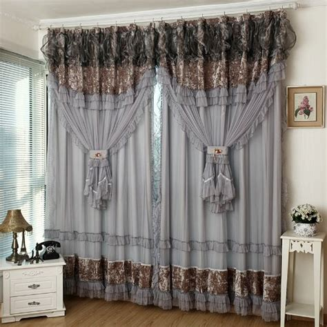 fancy curtains for bedroom fadfay home textile custom made curtains luxury jacquard