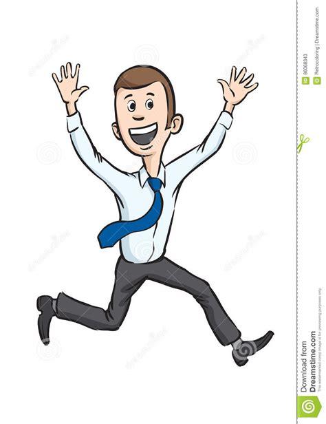 caricaturas chistosas de hombres imagui funcionamiento alegre del hombre de negocios de la