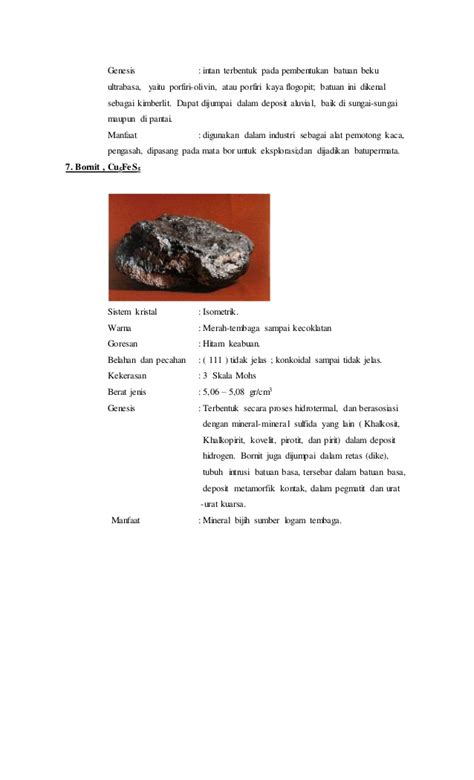 format laporan eksplorasi contoh laporan praktikum kristalografi dan mineralogi
