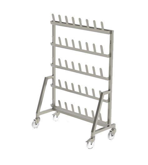 Single Shelf Shoe Rack by Mobile Single Sided Shoe Rack Uk Manufacturer Syspal Uk