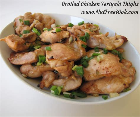 broiled teriyaki chicken thighs easy and moist