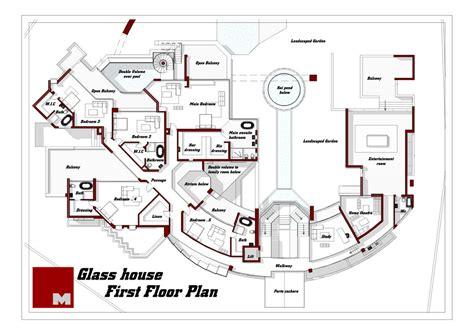 glass house floor plan glass house floor plan gurus floor