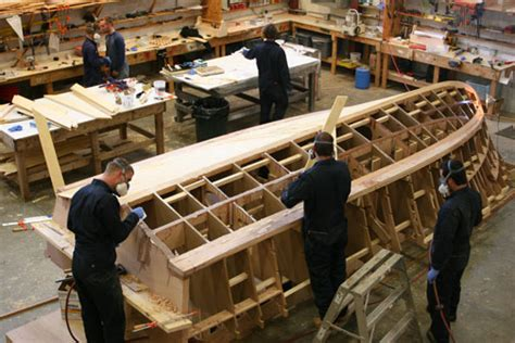 boat construction study boat building pathways to aus