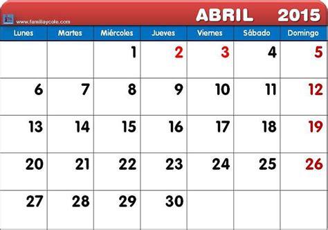 Calendario 2015 Semana Santa Calendario 2015 Semana Santa Imagui