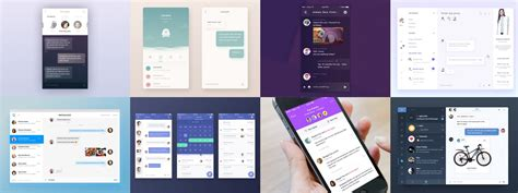 app design ui inspiration chat messaging ui inspiration muzli design inspiration