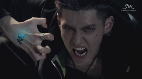 exo music video dl caps 130523 exo wolf mv teaser chanyeol ate my brain