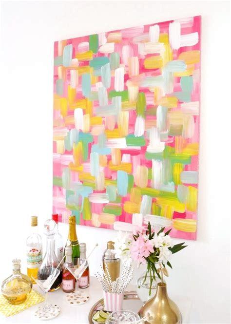 diy home painting ideen auf leinwand malen 37 originelle einfache ideen mit