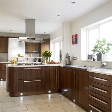 walnut kitchen kitchen design decorating ideas housetohome co uk