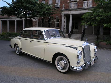 vintage cars 1960s 1960 benz 1960 mercedes benz 300d adenauer mercedes