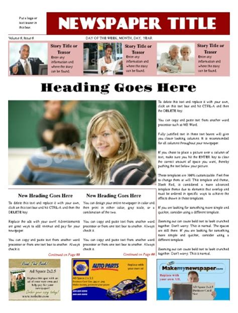 newspaper layout software free download modern newspaper layout design tips