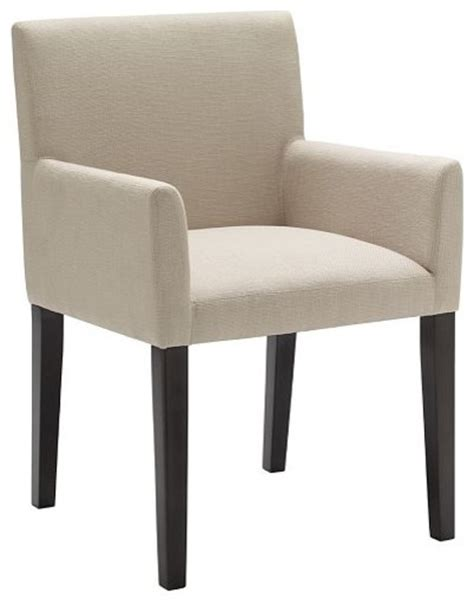 Contemporary Dining Chairs Upholstered Porter Upholstered Armchair Contemporary Dining Chairs By West Elm