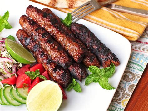 kebab recipe seekh kebabs the grilled spiced on a