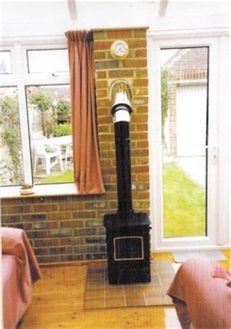 Install A Fireplace In A House Without One by Fitting Wood Burning Stoves In A Conservatory Installing