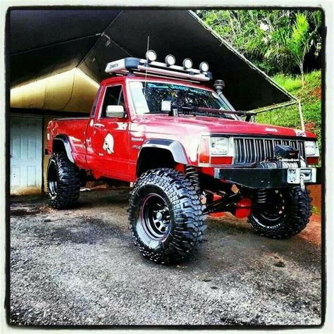 comanche jeep lifted bad jeep comanche bikes boats and cars pinterest