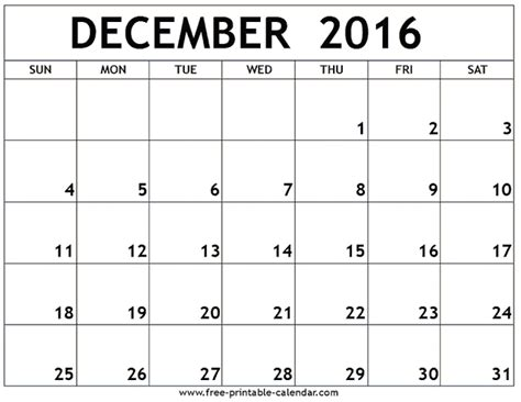 2016 monthly calendar printable new calendar template site december calendar 2016 printable