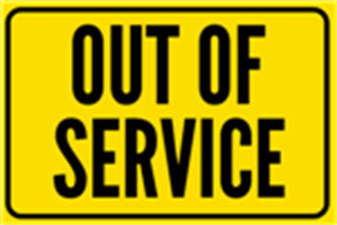 Restroom Signs Templates Signs Com Out Of Order Sign Template