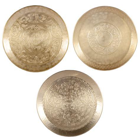 aluminium decorative plate gold fruit candle