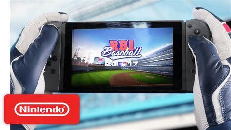 Switch R B I Baseball 2017 r b i baseball 17 nintendo switch nintendo switch
