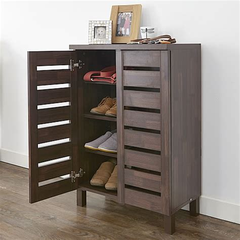 shoe storage cabinet slatted shoe storage cabinet shoe cupboards pinterest