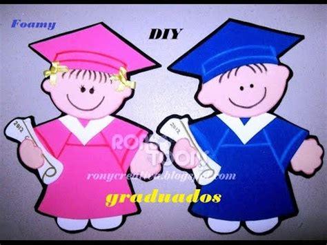 invitaciones de grado en fomix o goma eva c 243 mo hacer unos lindos graduados de foamy o goma eva