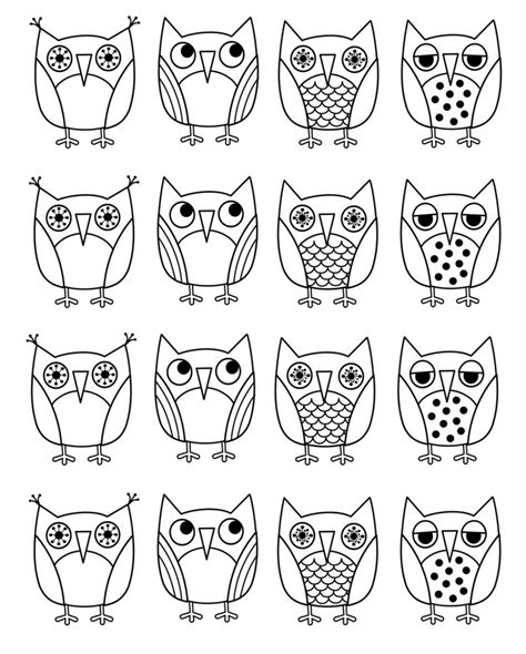owl coloring pages images free printable owl coloring pages for kids