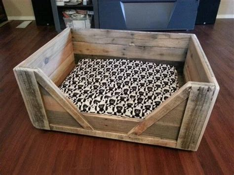 pallet dog bed plans wooden pallet dog bed plans pallet wood projects
