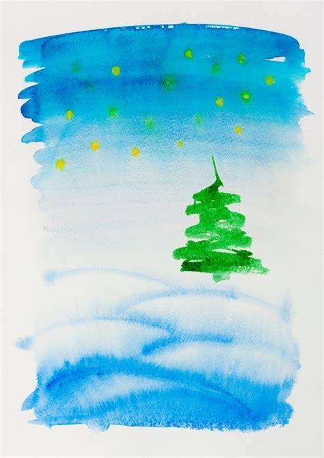 simple christmas cards to make