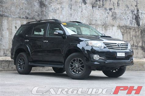Out Fortuner 2015 Murah review 2015 toyota fortuner 2 5 v philippine car news car reviews automotive features and