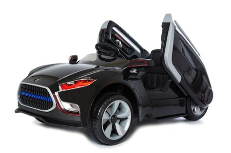 kid play car review play 12v black panther car the test pit